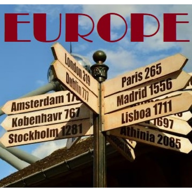 7 DAYS 6 NIGHTS GLANCE OF EUROPE  (2-TO-GO WINTER PACKAGE)
