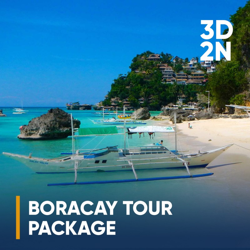 3 DAYS 2 NIGHTS BORACAY, PHILIPPINES