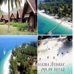 3 DAYS 2 NIGHTS ASEANIA BEACH RESORT, PULAU BESAR