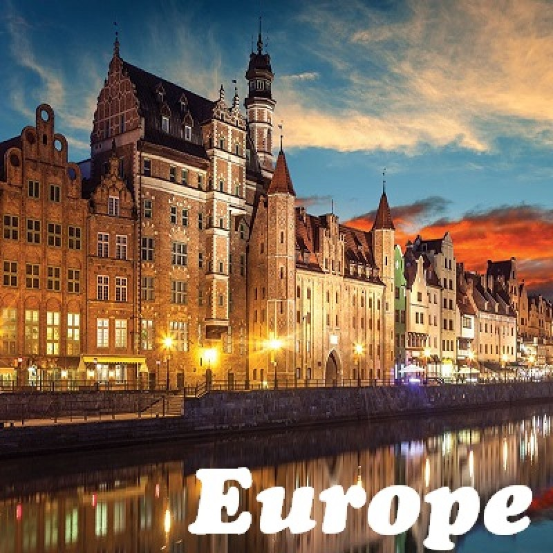 9 DAYS 8 NIGHTS BEST OF EASTERN EUROPE  (2-TO-GO SUMMER PACKAGE)